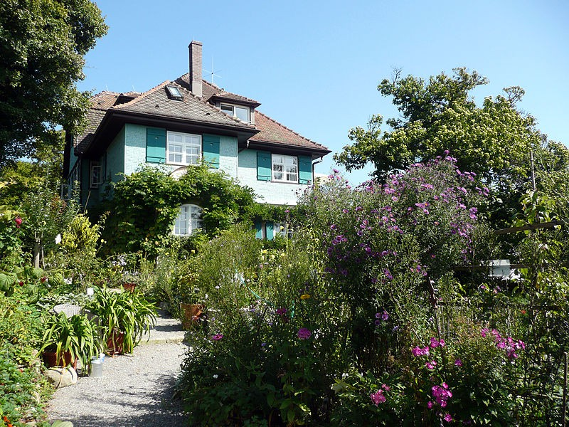 The house of Hermann Hesse in Gaienhofen