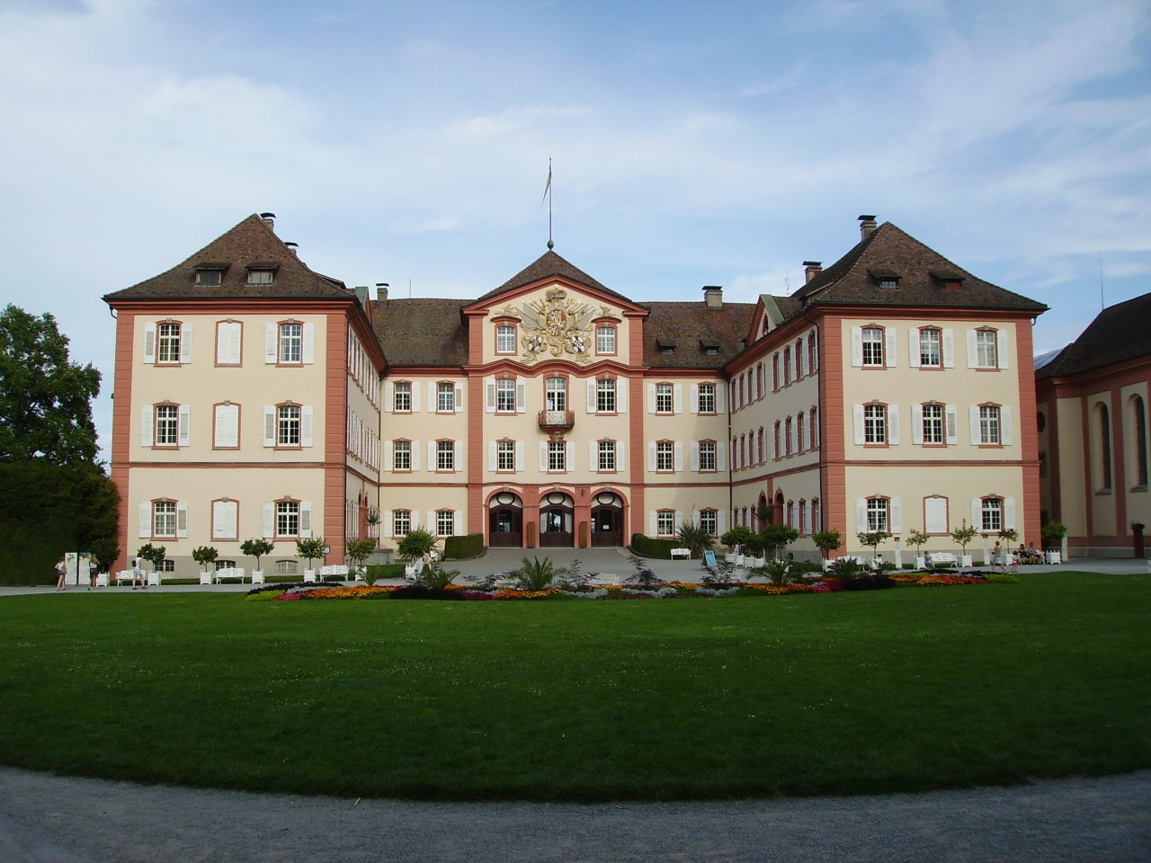 Isle of Mainau, baroque castle