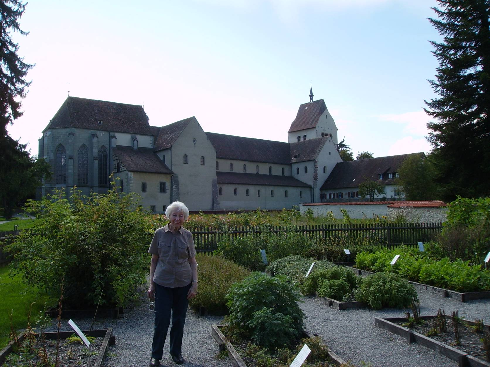 In the herb garden of Wahlafried Strabo, Reichenau